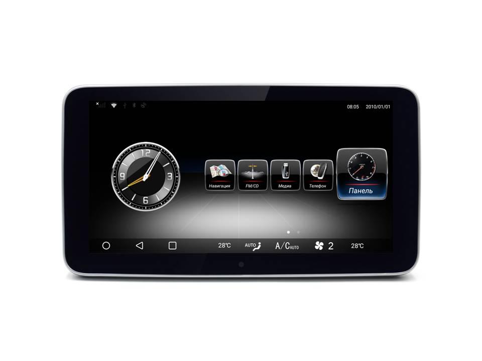Монитор ТС-7705 10.2 дюймов для Mercedes C/GLС/V260 класс 2014-2019г.в. NTG 5.0/5.2