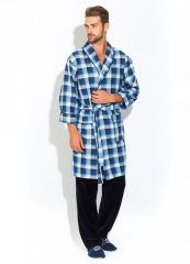 Стильный комплект - легкий халат и брюки Premiere №32 (PM 2109/1)