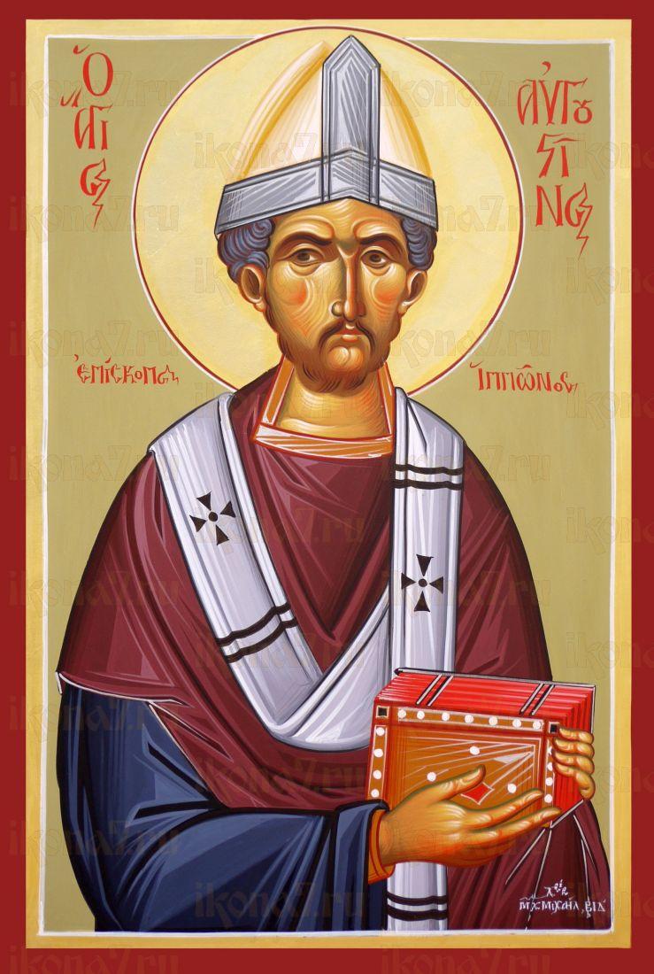 Икона Августин Иппонийский блаженный