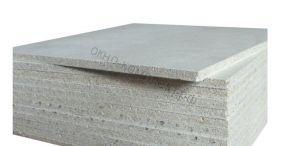Гипсоволокнистый влагостойкий лист с фаской 12,5*1200*2500 ГВЛВ  KNAUF
