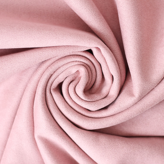 Замша искусственная пыльная роза светлая 50*37 см