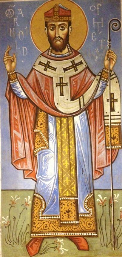Икона Арнольд Мецкий святитель