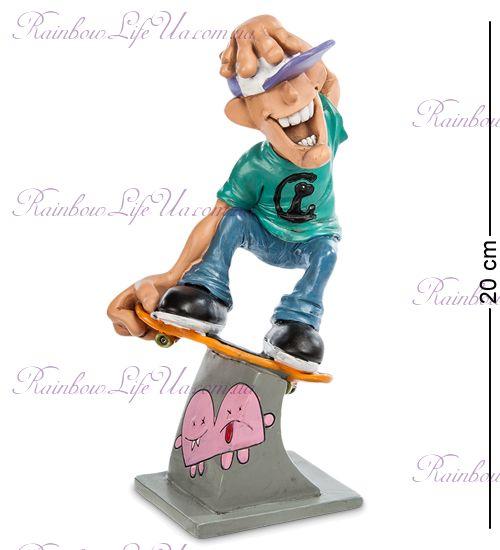 """Статуэтка скейтер на скейте """"W.Stratford"""""""