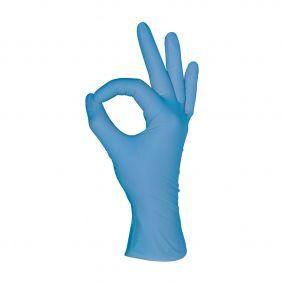 Перчатки нитриловые MediOK, голубой, размер XS,S,M,L- 50 пар