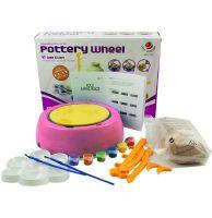 Детский гончарный круг Pottery Wheel (цвет розовый)_2