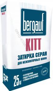 Затирка серая на цементной основе 25кг Kitt  Bergauf