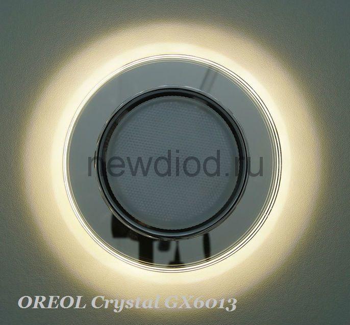 Точечный Светильник OREOL Crystal GX6013 120/80mm Под Лампу GХ53 H4 Белый