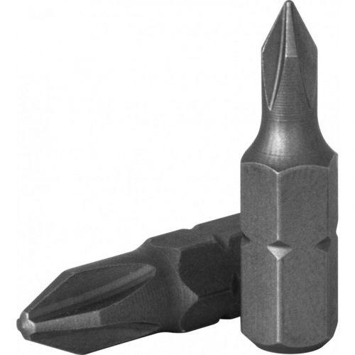 "D125P2A Бита 1/4"" крест PH#2, 25 мм, S2 материал"
