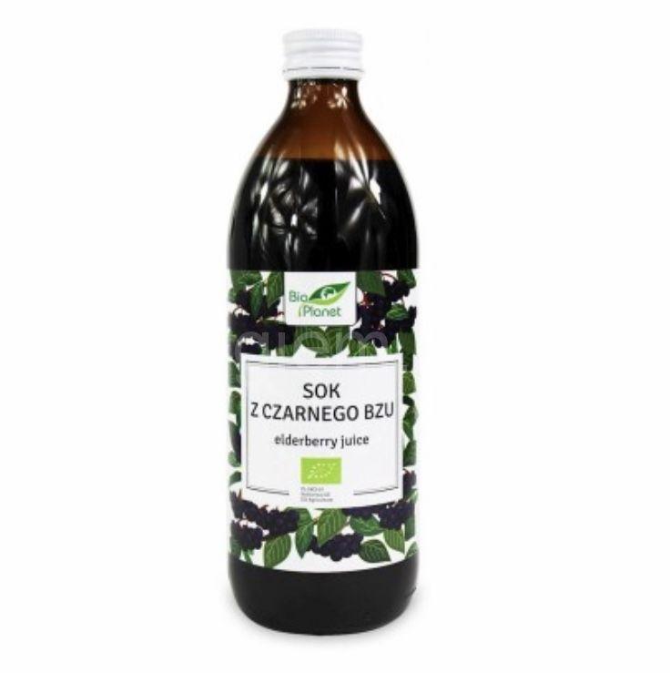 Органический сок бузины Bio Planet ,500 мл (стекло)