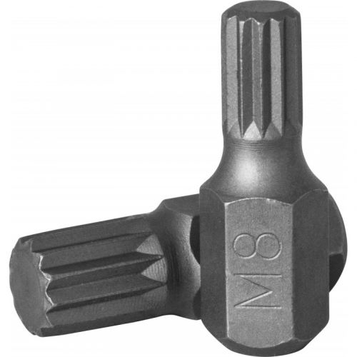 D10M30M08A Бита 10 мм Spline, М8, 30 мм, S2 материал