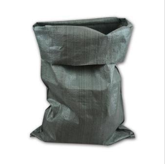 Мешки полипропиленовые, зелёные.