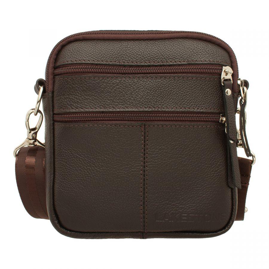 Мужская сумка через плечо Lakestone Greyfield Brown