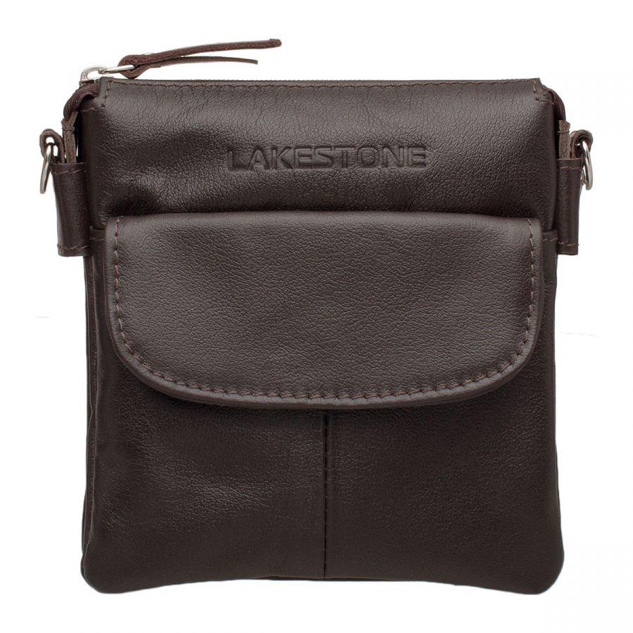Мужская сумка через плечо Lakestone Osborne Brown