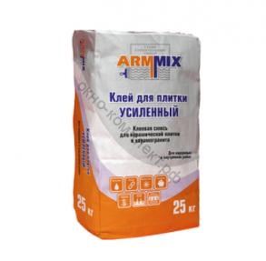 Клей для плитки ARMMIX Усиленный 25кг