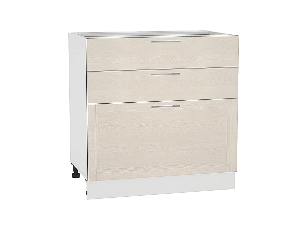 Шкаф нижний Сканди Н803 Cappuccino Softwood