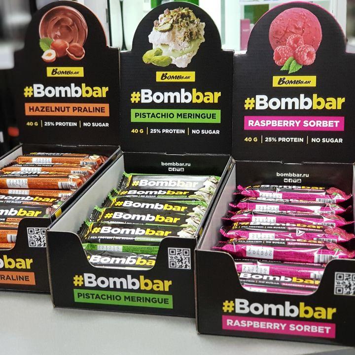 Bombbar - Протеиновый батончик в шоколаде (40г)