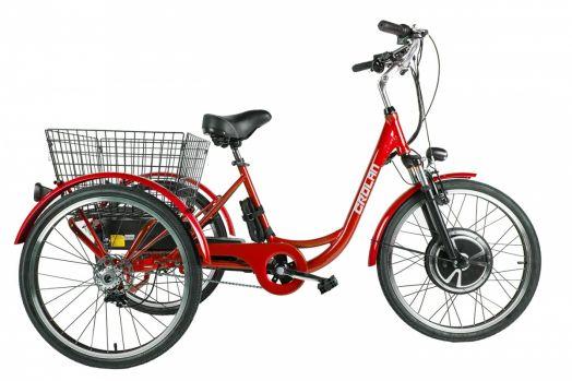Трицикл Crolan 500W Красный