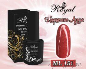 """Royal гель лак """"Мерцание Луны"""" 10 мл  ML151"""