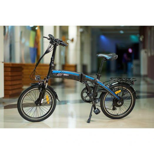 Велогибрид Eltreco LETO Черный
