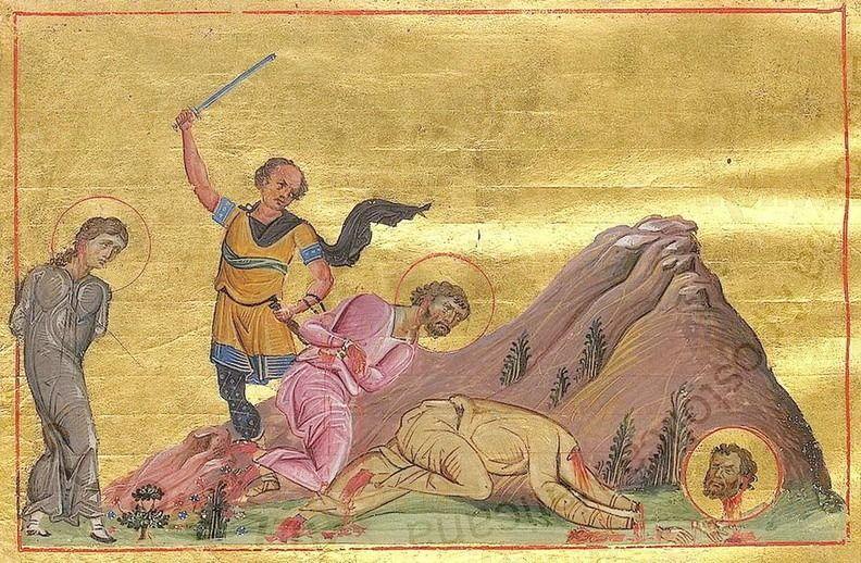 Икона Асклиада Маркианопольская мученица