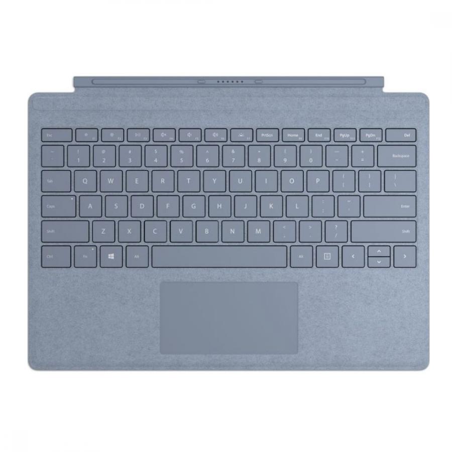 Microsoft Surface Pro signature type cover Alcantara (Ice Blue)