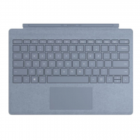 Microsoft Surface Pro signature type cover Alcantara (Ice Blue)