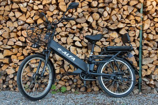 Велогибрид Eltreco e-ALFA GL Черный