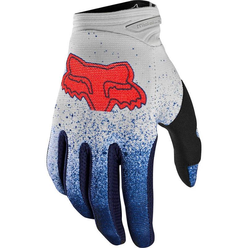 Fox Dirtpaw BNKZ SE Grey Youth перчатки для мотокросса подростковые