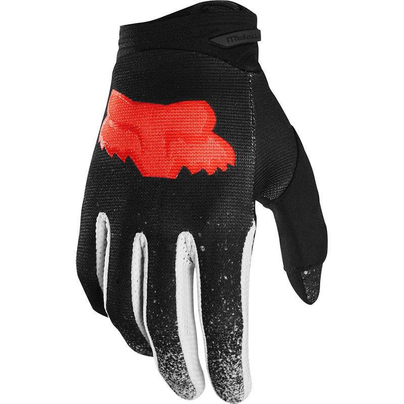 Fox Dirtpaw Bnkz SE Black Youth перчатки для мотокросса подростковые