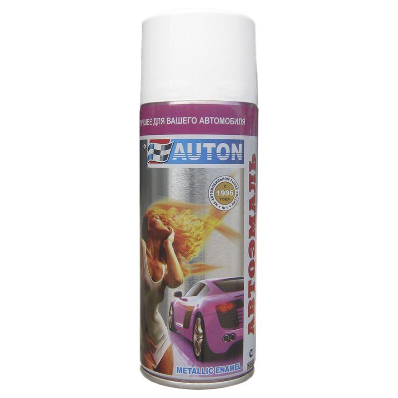 """Auton Автоэмаль """"Металлик"""", название цвета """"190 калифорнийский мак"""", в аэрозольном баллоне, объем 520мл."""
