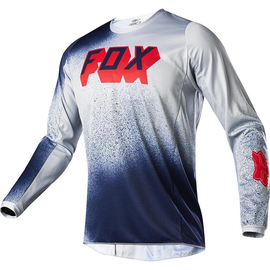 Fox 180 BNKZ Special Edition Youth Grey джерси для мотокросса подростковое, серое