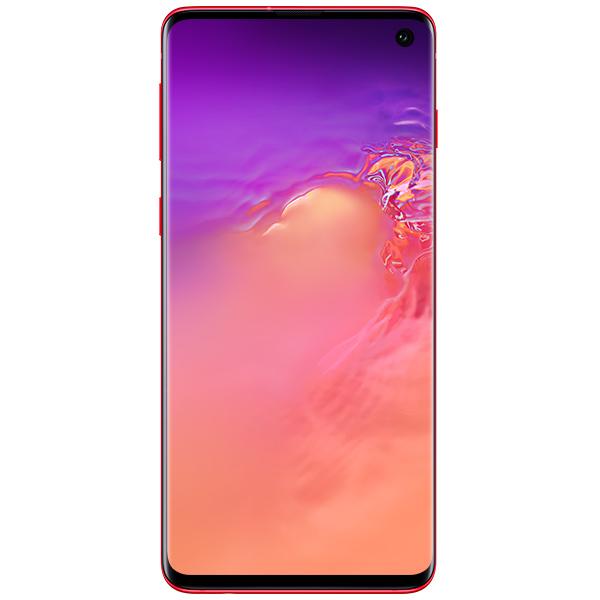 "Samsung Galaxy S10, 6.1"", 128 ГБ (гранат/красный)"