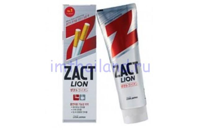 Тайская зубная паста для курящих Zact Lion (Закт) 160 гр