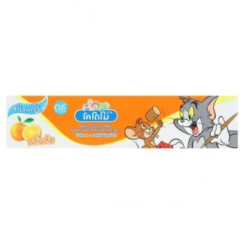 Тайская зубная паста для детей Апельсин Kodomo 80 гр