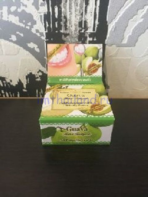 Тайская фруктовая зубная паста с Гуавой 30 гр