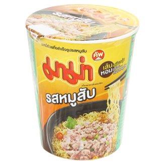 Суп-лапша быстрого приготовления со свининой в стакане Mama 60 гр