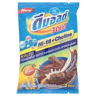 Шоколадный напиток с кальцием Dmalt 3in1 5 пакетов по 35 гр