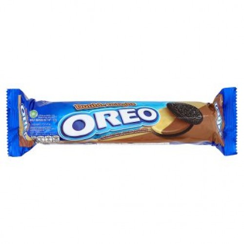 Шоколадное печенье с арахисовой пастой Oreo 137 гр