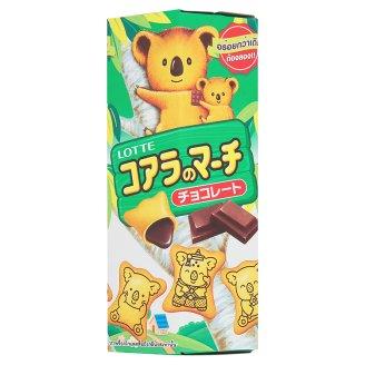 Бисквитное печенье шоколадное Lotte Koala's 37 гр