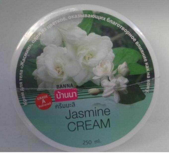 Питательный крем для лица и тела Жасмин Banna 250 мл