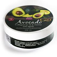 Питательный крем для лица и тела Авокадо Banna 250 мл