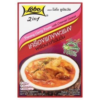 Тайская паста Пананг Карри с кокосовыми сливками Lobo 100 гр