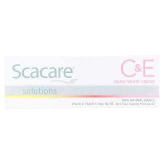 Отбеливающий крем для лица Scacare 30 гр