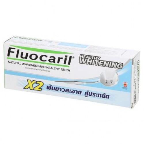 Отбеливающая зубная паста натуральная Fluocaril 2 тубы по 160 гр