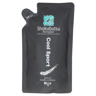 Гель для душа мужской Спорт Shokubutsu дой-пак 200 мл