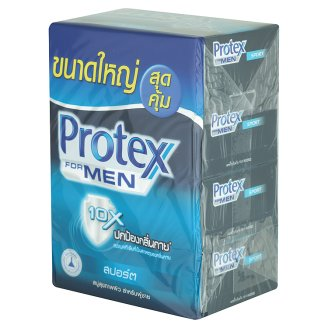 Мужское мыло Спорт Бар Protex for Men 4 шт по 100 гр