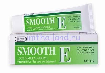 Крем для ухода за кожей лица и тела Smooth-E 100гр