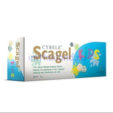 Крем для удаления всех видов шрамов Scagel Kids для детей Bangkok Botanica 9гр