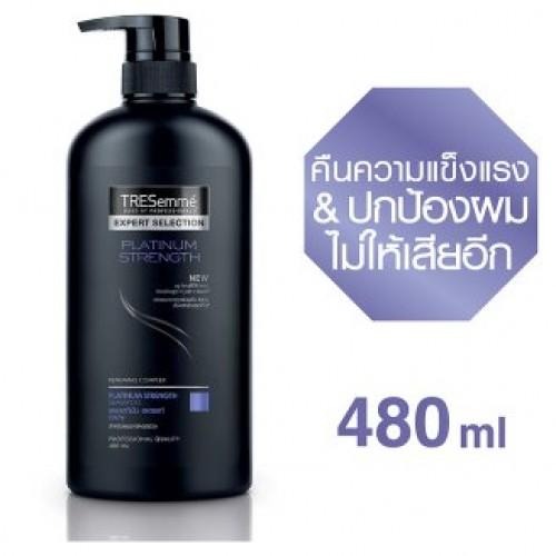 Шампунь для волос Блеск и Сила Tresemm Platinum 480 мл