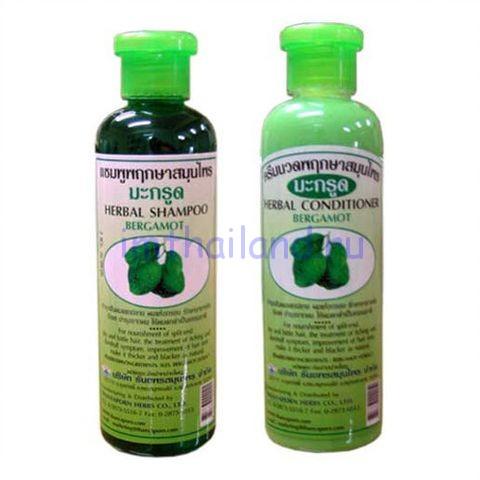 Кондиционер-бальзам для волос с бергамотом Thanyaporn Herbs 350 мл